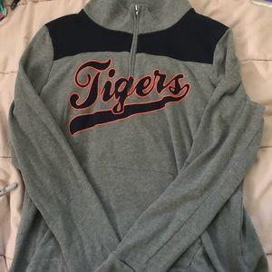 PINK Detroit Tigers Quarter Zip